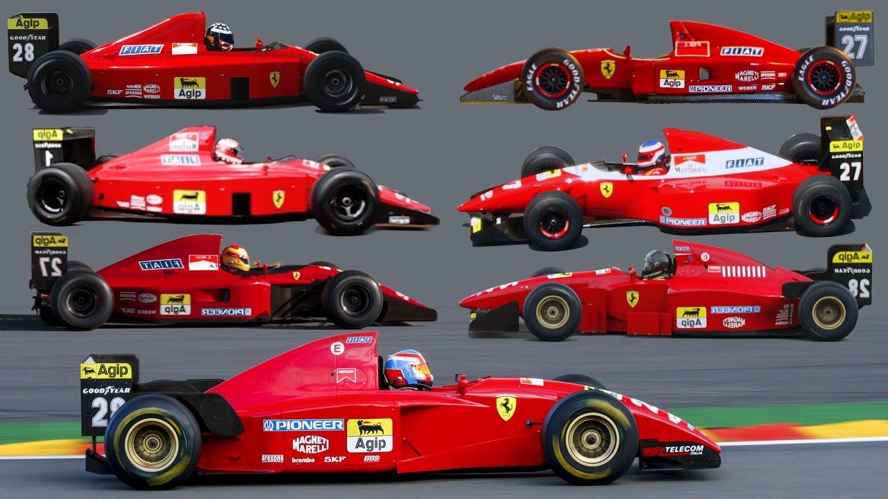 Ferrari F1 V12 Special 1989 1995 6 000 000 Views Special Youtube