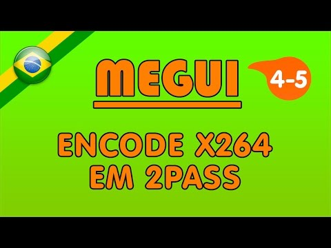 MeGUI: Encode x264 em 2Pass
