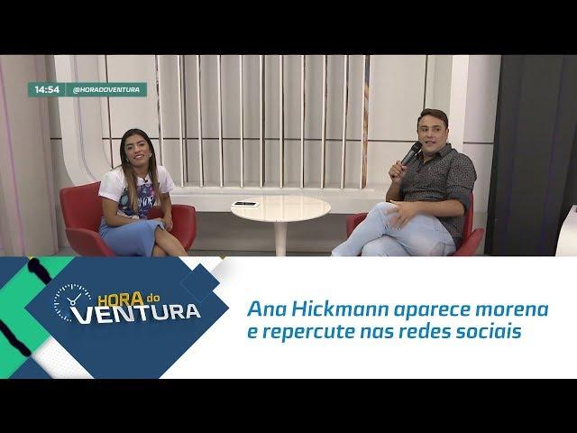 Ana Hickmann aparece morena e repercute nas redes sociais  - Bloco 02