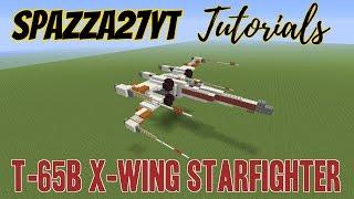 X-Wing Minecraft tutorial