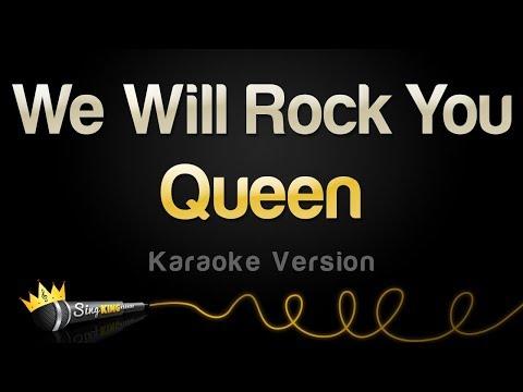 Queen - We Will Rock You (Karaoke Version)