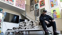 COINSLOT PAINTS ONE OF A KIND COUCH!
