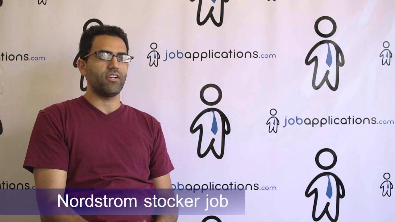 Nordstrom Interview - Stocker