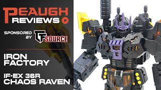 Video Review: Iron Factory IF-EX36R CHAOS RAVEN