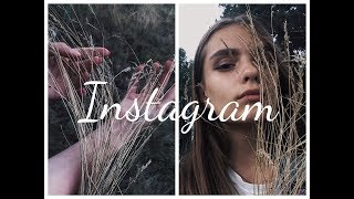 Как вести Instagram в одном стиле|| советы + обработка