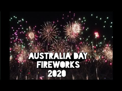 Australia Day Fireworks 2020/ Perth