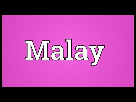 Malay Meaning