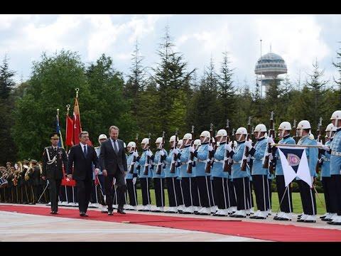 Bosna-Hersek Cumhurbaşkanlığı Konseyi Başkanı İzetbegoviç Çankaya Köşkü'nde-12.05.2014