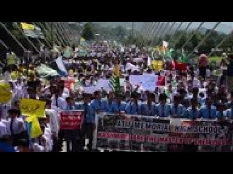 Protest against India in Pakistan-held Kashmir