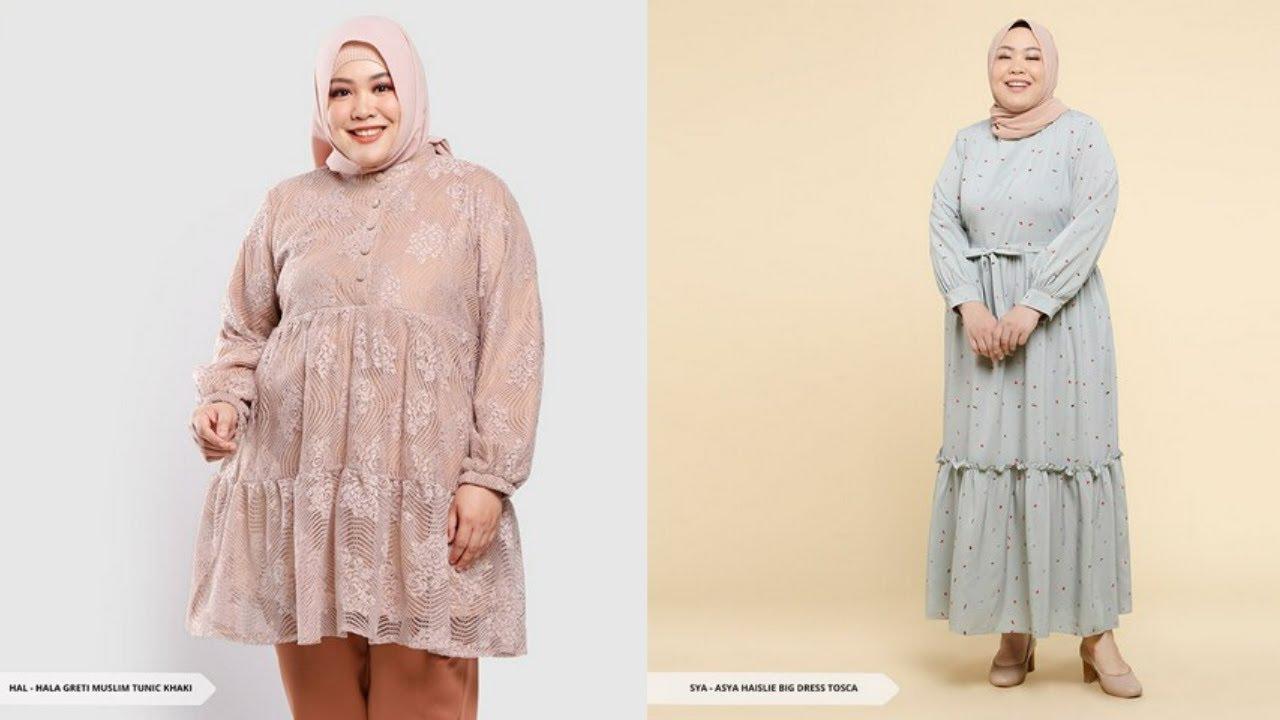 10 Model Baju Muslim Untuk Orang Gemuk Agar Terlihat Langsing