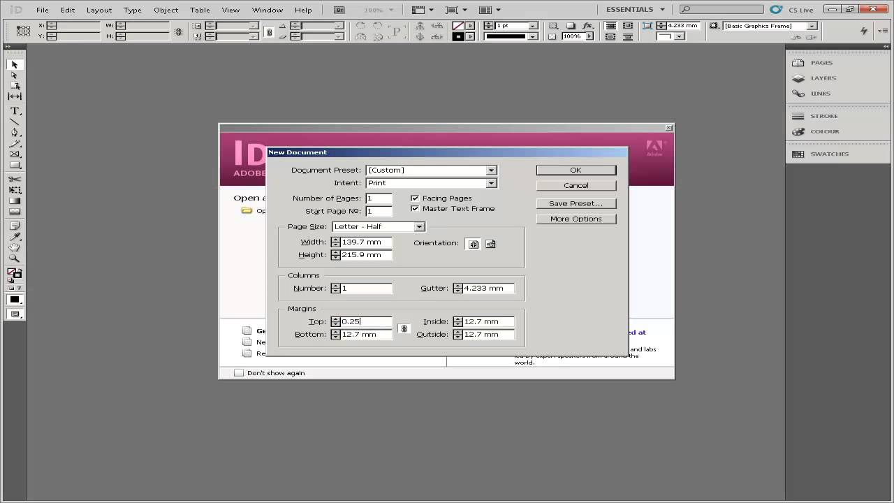 How to create invitation in indesign youtube how to create invitation in indesign stopboris Choice Image