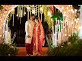 Wedding story of a Bengali Bride & South Indian Groom | #machlimeetsidli