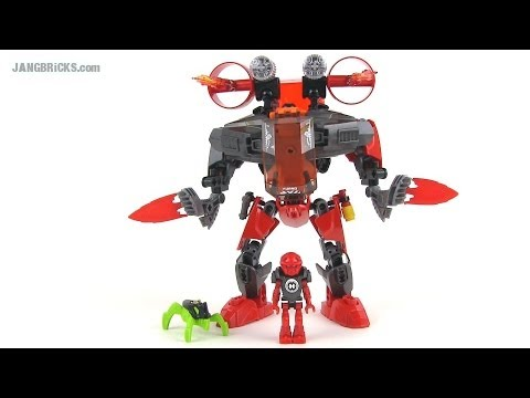 LEGO Hero Factory 44018 Furno Jet Machine (Invasion From Below) Set Review!