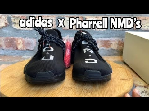 """low priced 19365 fbe7c adidas x Pharrell Human Race NMD N.E.R.D """"ComplexCon"""" review"""