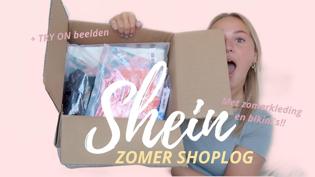 SHEIN zomer shoplog + TRY on ⚡ Fleur Nijbacker