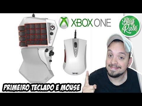 XBOX ONE URGENTE !!! PRIMEIRO TECLADO E MOUSE OFICIAL SERÁ LANÇADO