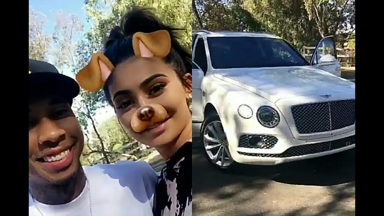 Surprise Bentley Truck For Tyga   Kylie Jenner Newest Snapchat Ft ...