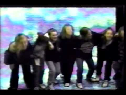 8 Teenage Girls Dance to a Crappy Cover Song ('90s)