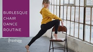 Download Beginner Burlesque Chair Dance Tutorial | Chair Dance Choreography Mp3 and Videos