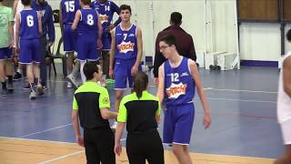 Résumé U17 Inter Région Cholet Basket - Jeune France Cholet (09-02-19)