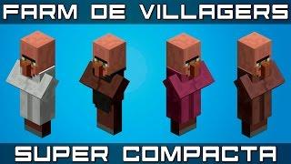 Farm de VILLAGER + Estoque [SUPER COMPACTA] [1.8 até 1.13.X]