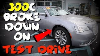 ⚙ REVIEW Chrysler 300 C AWD | Test Drive - Vlog while Walking Back to Dealership