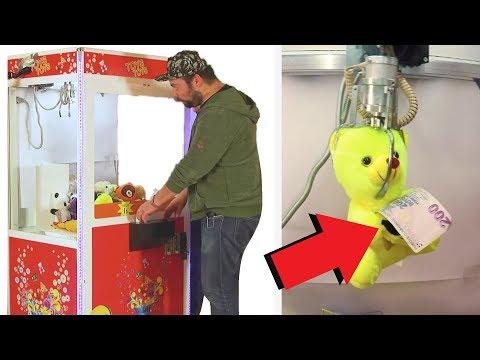 Hediye Kapma Makinesi - Para Tutan Oyuncağı Kap