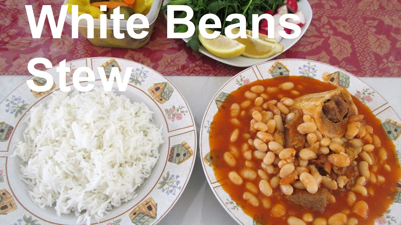 Download How To Make Iraqi White Beans and Beef Stew/ #Recipe188CFF / #cffrecipes
