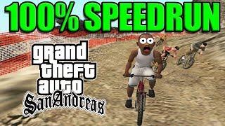 GTA San Andreas 100% Speedrun [16:12:20]