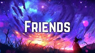 Marshmello & Anne Marie - Friends (Clean Lyrics) Video