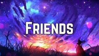 Marshmello & Anne-marie - Friends Clean Lyrics