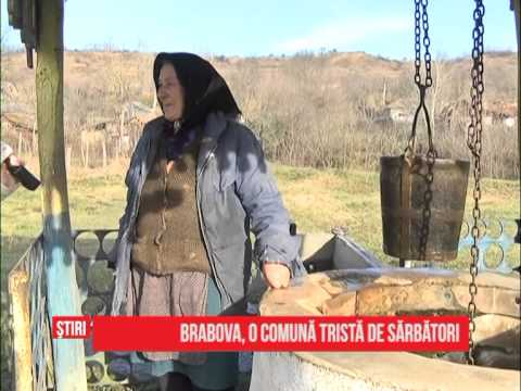 Brabova, o comună tristă de sărbători
