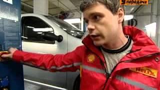 Shell Helix и Первая Передача (НТВ) о Renault Logan