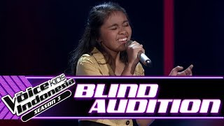 Geltri - How Long | Blind Auditions | The Voice Kids Indonesia Season 3 GTV 2018