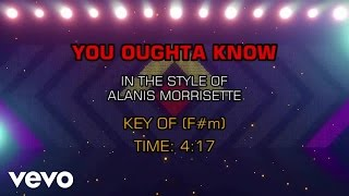 Alanis Morissette - You Oughta Know (Karaoke)