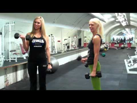 Training Tips w/ Marzia Prince On Bicep Curls - Brought to you by Supplements.co.nz