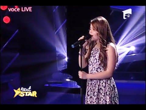 """Jennifer Hudsom - """"One Night Only"""". Vezi Cum Cântă Miruna Gavriș, La """"Next Star""""!"""