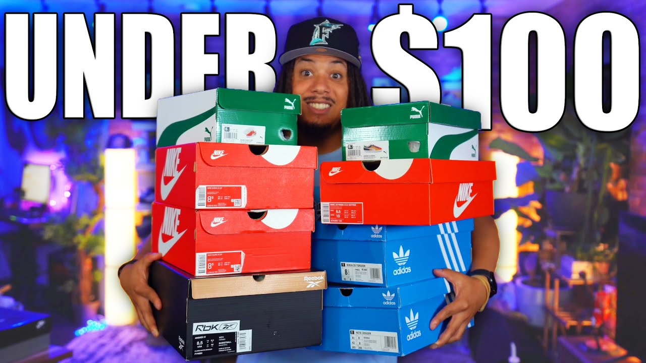 TOP 10 BEST SNEAKERS UNDER $100 RIGHT NOW IN 2021