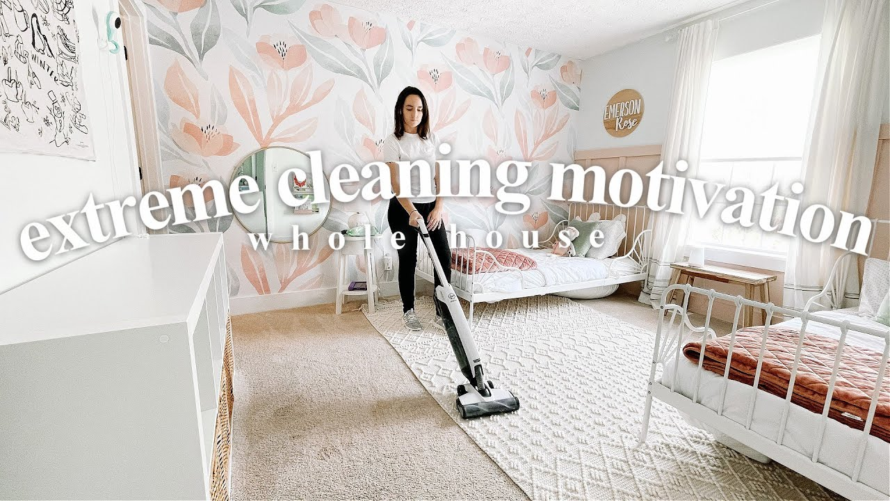 NEW CLEAN WITH ME 2021 | WHOLE HOUSE Cleaning Motivation