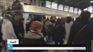 الإضراب يثير الاضطراب في حركة القطارات في فرنسا