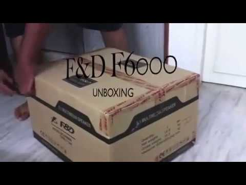 Unboxing of F&D F6000