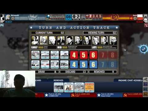 Twilight Struggle - USA +1 vs USSR (02/19/2017)