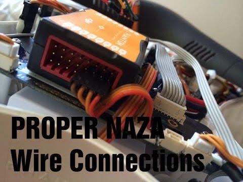 Wiring A Plug Diagram Nema L14 30p Correct Dji Naza V2 M Connections - How To In Phantom Youtube