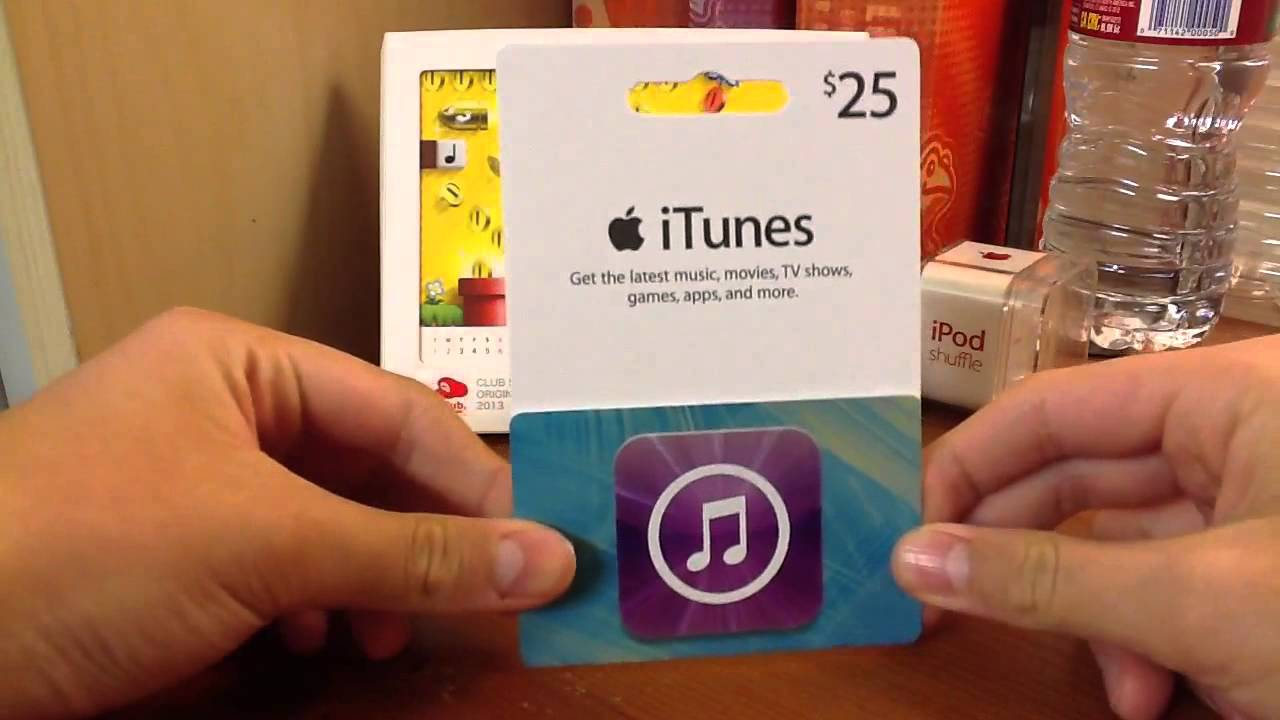 Free $25 iTunes Gift Card GIVEAWAY [INFO. IN DESCRIPTIONS] - YouTube