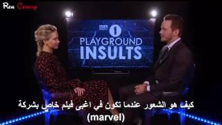 لعبة الاهانة مع جنيفر لورانس و كريس برات مترجم 2017