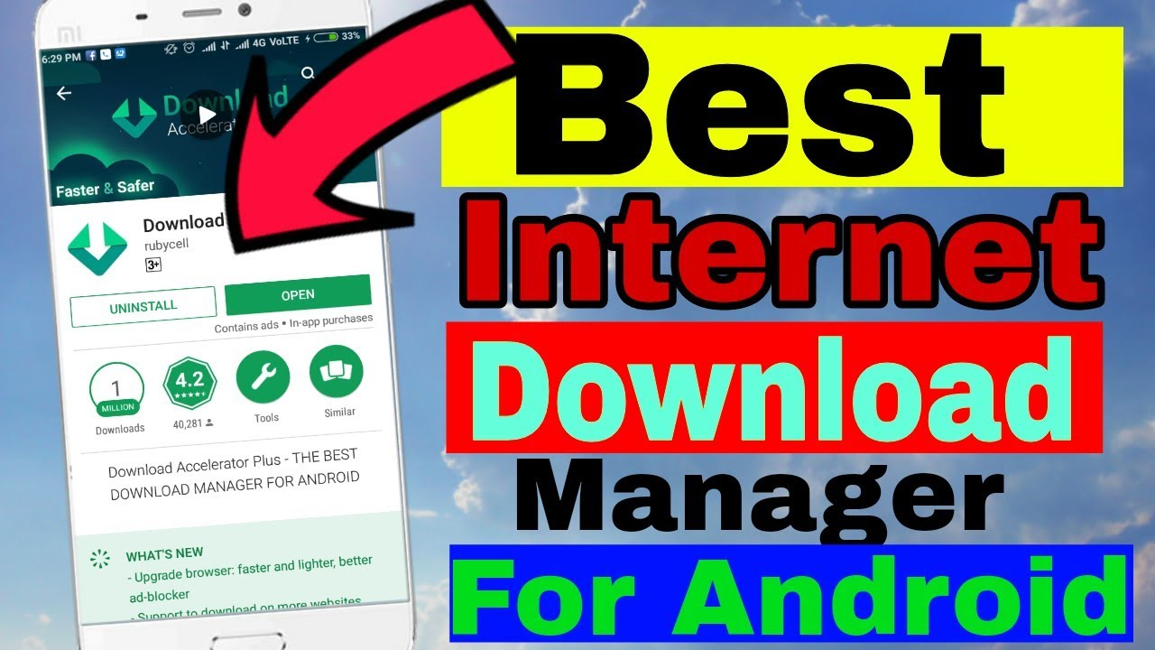 idm manager download for android
