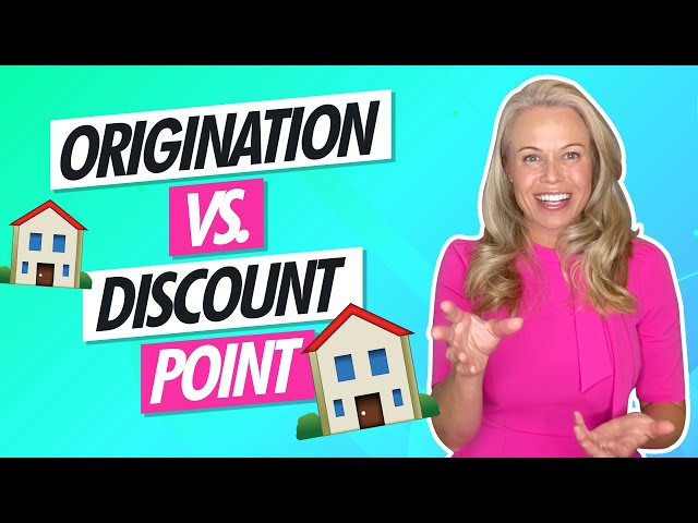 Origination vs. Discount Point 🏡 Lenders Are Charging Extra Points 😡