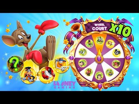 10 Court Wheel Spins And Jester Bugs Campaign - Looney Tunes World Of Mayhem