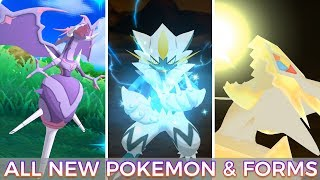 All New Pokémon & Forms (Normal+Shiny) - Pokémon Ultra Sun/Moon [1080p HD]