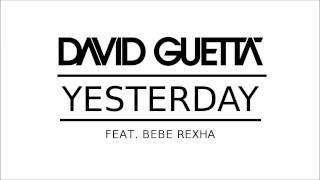 David Guetta - Yesterday (feat. Bebe Rexha) (Piano Cover + Sheets)